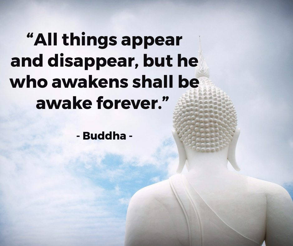 quote on teachings of Buddha
