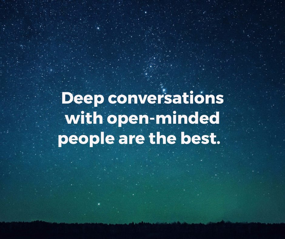 Use these 15 deep questions to get to know someone well
