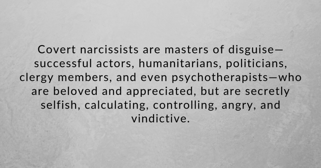 Covert narcissist: 5 things they do and how to handle them - Hack Spirit