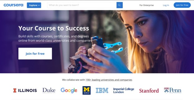 coursera free online courses from top universities